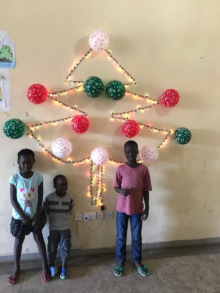 Christmas Tree at the Humanity Home